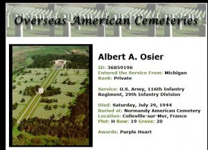 Albert A Osier