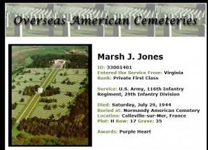 Marsh J Jones
