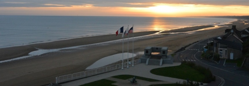 National Guard Monument, 116th Infantry Regiment Statue, Omaha Beach